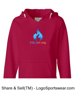 Coldfire Female Hoodie Wildberry Design Zoom