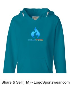 Coldfire Female Hoodie Turqberry Design Zoom