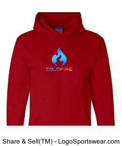 Coldfire Hoodie Red Design Zoom