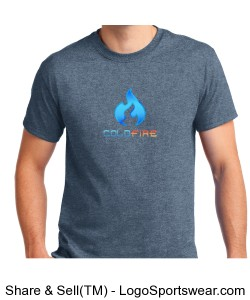 Coldfire T-shirt Grey Design Zoom