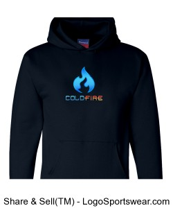 Coldfire Hoodie Navy Design Zoom