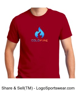 Coldfire T-Shirt Red Design Zoom
