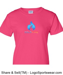 Coldfire Female T-shirt Pink Design Zoom