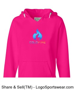 Coldfire Female Hoodie Pink Design Zoom